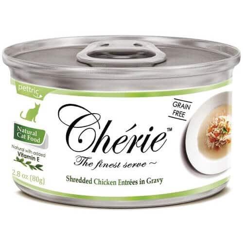 Купить Pettric Cherie Flaked Yellowfin Mix консервы с курицей и овощами для кошек в дискаунтере товаров для животных Крокодильчик