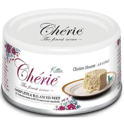 Купить Pettric Cherie Complete Balanced Diet мусс из куриного мяса для котят в дискаунтере товаров для животных Крокодильчик