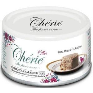 Купить Pettric Cherie Complete Balanced Diet мусс из тунца для котят в дискаунтере товаров для животных Крокодильчик
