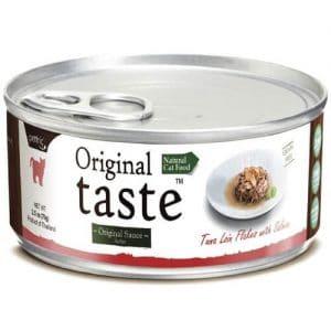 Купить консервы Pettric Original Taste с тунцом и лососем для кошек в дискаунтере товаров для животных Крокодильчик