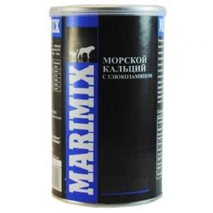 Маримикс Marimix морской кальций с глюкозамином, 250 г купить в дискаунтере товаров для животных Крокодильчик в Москве