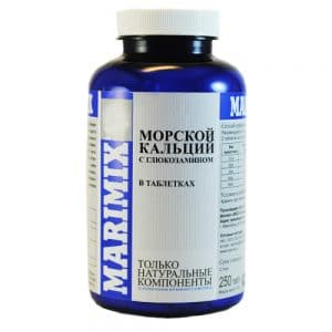 Маримикс Marimix морской кальций с глюкозамином купить в дискаунтере товаров для животных Крокодильчик в Москве