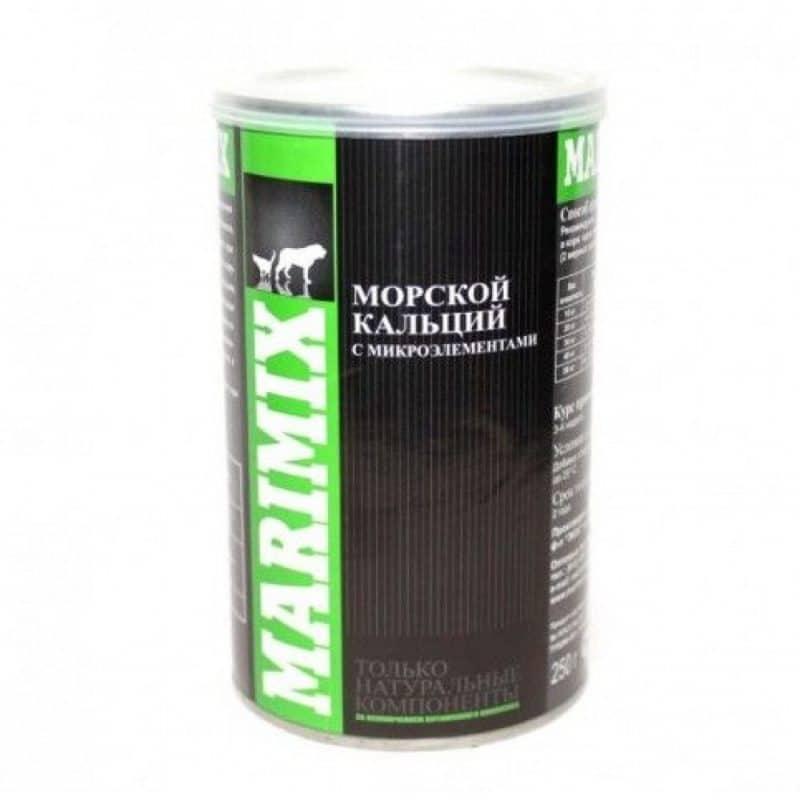 Маримикс Marimix морской кальций с микроэлементами, 250 г купить в дискаунтере товаров для животных Крокодильчик в Москве