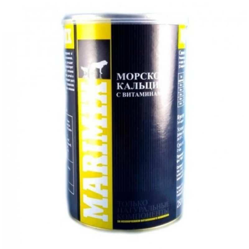 Маримикс Marimix морской кальций с витаминами, 250 г купить в дискаунтере товаров для животных Крокодильчик в Москве