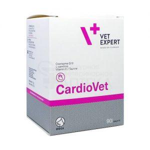 КАРДИОВЕТ (CardioVet), уп. 90 таблеток купить в дискаунтере товаров для животных Крокодильчик в Москве