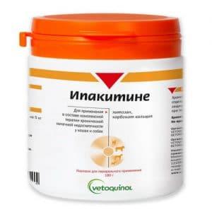 Ипакитине для кошек и собак, 180 гр. купить в дискаунтере товаров для животных Крокодильчик в Москве