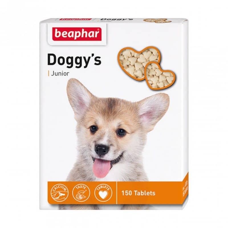 Beaphar Doggy`s Junior Витамины для щенков, 150 шт. купить в дискаунтере товаров для животных Крокодильчик