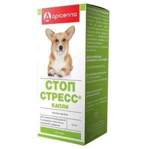 Стоп-Стресс капли для собак до 30 кг, 15 мл купить в дискаунтере товаров для животных Крокодильчик