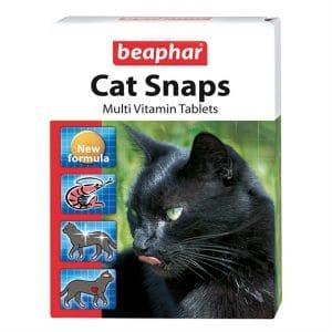Beaphar Cat Snaps Витамины для кошек, 75 шт. купить в дискаунтере товаров для животных Крокодильчик
