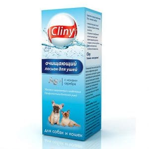 Cliny лосьон очищающий для ушей, 50 мл купить в дискаунтере товаров для животных Крокодильчик