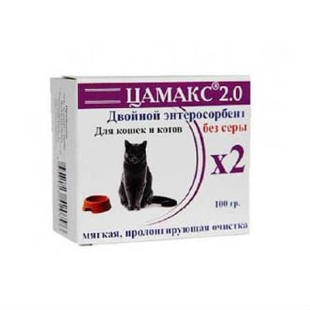 Цамакс для кошек и котов, 100 г купить в дискаунтере товаров для животных Крокодильчик