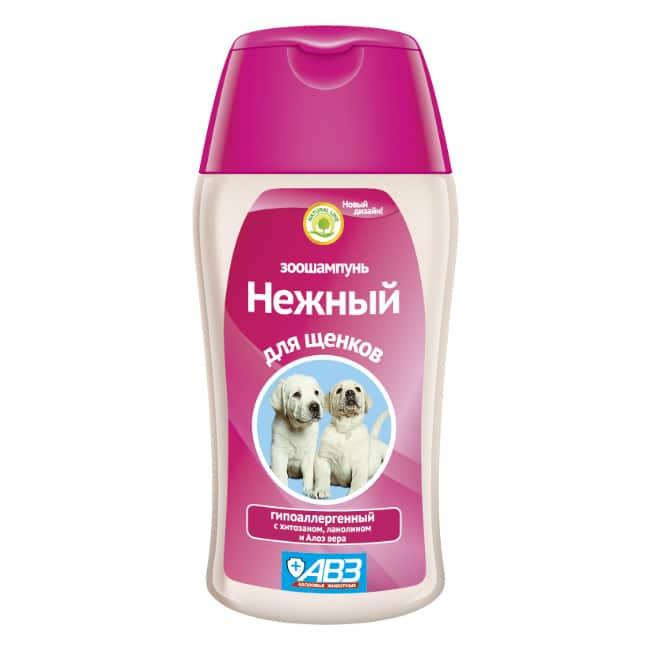 Зоошампунь Нежный гипоаллергенный с хитозаном для щенков, 180 мл купить в дискаунтере товаров для животных Крокодильчик