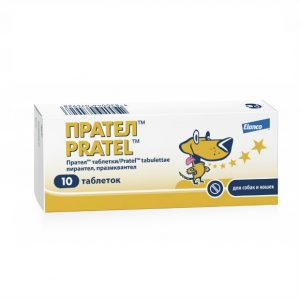 Прател таблетки для собак и кошек, 10 шт купить в дискаунтере товаров для животных Крокодильчик