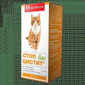 Стоп-Цистит Био Суспензия для кошек, 30 мл купить в дискаунтере товаров для животных Крокодильчик