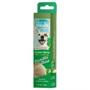Tropiclean Fresh Breath Гель для чистки зубов с ванилью и мятой для собак, 59 мл купить в дискаунтере товаров для животных Крокодильчик