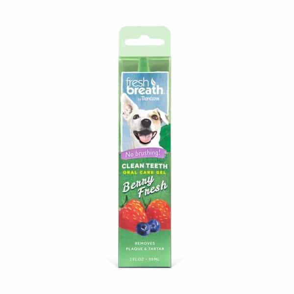 Tropiclean Fresh Breath Гель для чистки зубов ягодный для собак, 59 мл купить в дискаунтере товаров для животных Крокодильчик