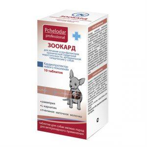 Pchelodar Зоокард таблетки для собак мелких пород, 10 шт. купить в дискаунтере товаров для животных Крокодильчик