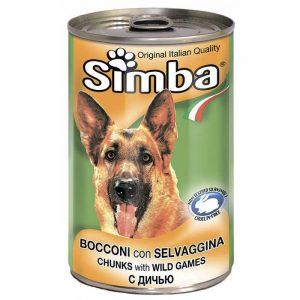 Monge Simba Dog консервы для собак с кусочками дичи, 1230 г купить в дискаунтере товаров для животных Крокодильчик