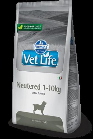 Farmina Vet Life Dog Neutered 1-10 kg купить в дискаунтере товаров для животных Крокодильчик в Москве