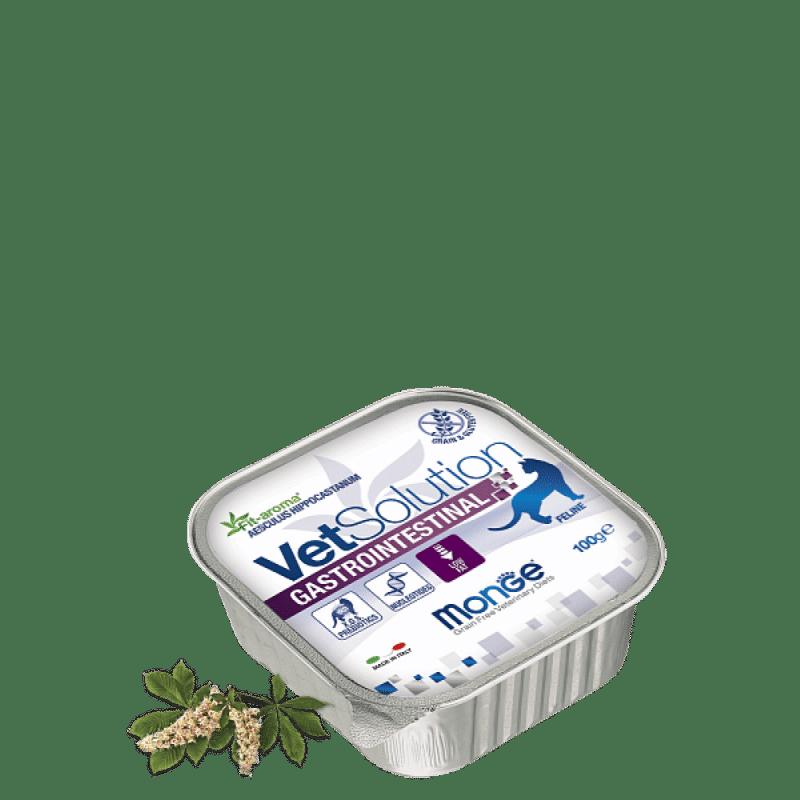 Monge VetSolution Cat диета Gastrointestinal консервы для кошек, 100 г купить в дискаунтере товаров для животных Крокодильчик
