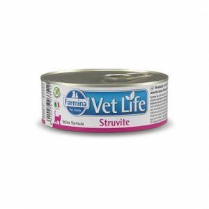 Farmina Vet Life Cat Struvite влажная диета для кошек для лечения и профилактики рецидивов струвитного уролитиаза, 85 г купить в дискаунтере товаров для животных Крокодильчик