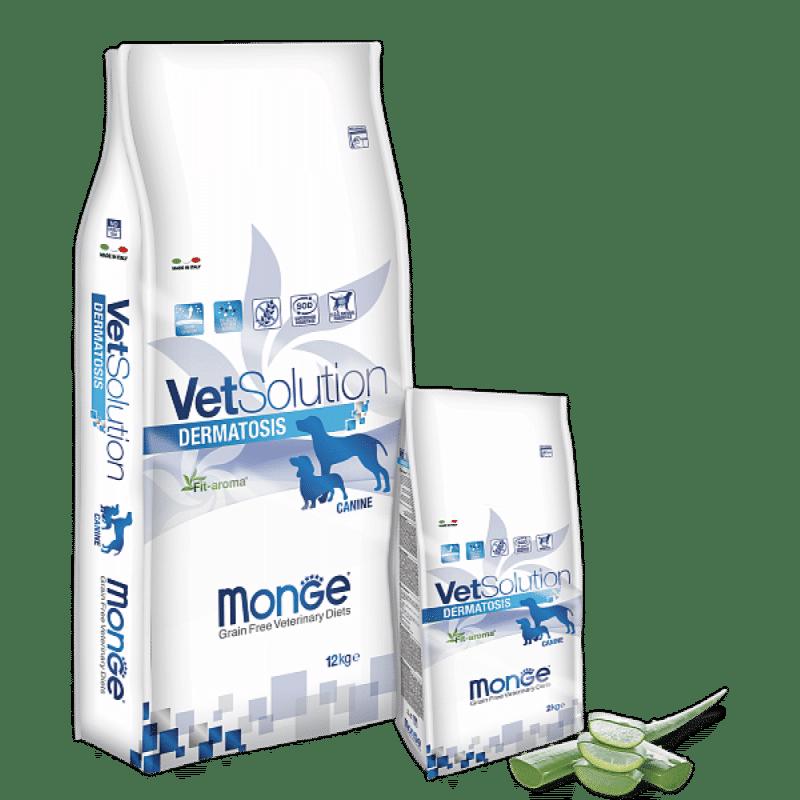 Monge VetSolution Dog диета Dermatosis купить в дискаунтере товаров для животных Крокодильчик