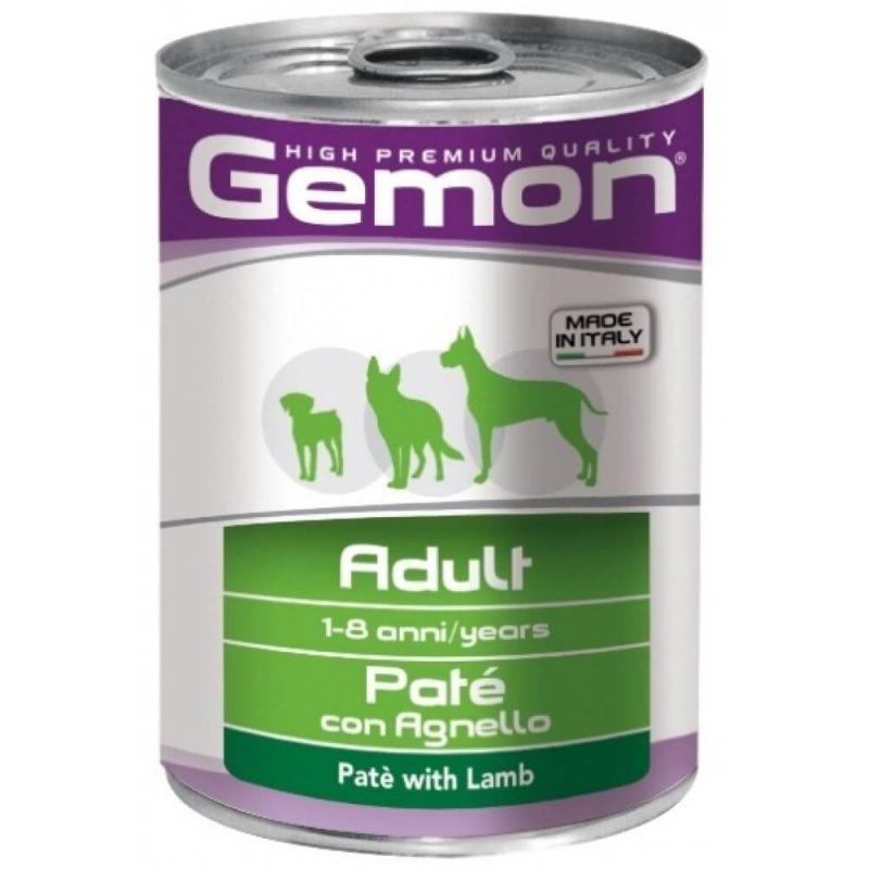 Monge Gemon Dog паштет для собак с ягненоком, 400 г купить в дискаунтере товаров для животных Крокодильчик