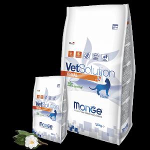 Monge VetSolution Cat Renal - Диета для кошек Монж Ренал купить в дискаунтере товаров для животных Крокодильчик