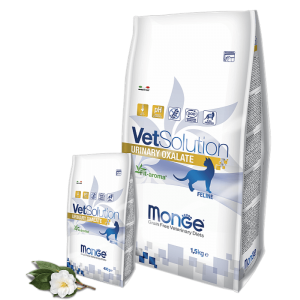 Monge VetSolution Cat Urinary Oxalate - Диета для кошек Монж Уринари Оксалат купить в дискаунтере товаров для животных Крокодильчик