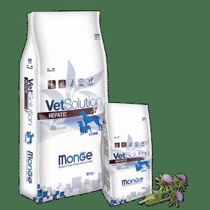Monge VetSolution Dog диета Hepatic купить в дискаунтере товаров для животных Крокодильчик