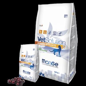Monge VetSolution Cat Urinary Struvite - Диета для кошек Монж Уринари Струвит купить в дискаунтере товаров для животных Крокодильчик