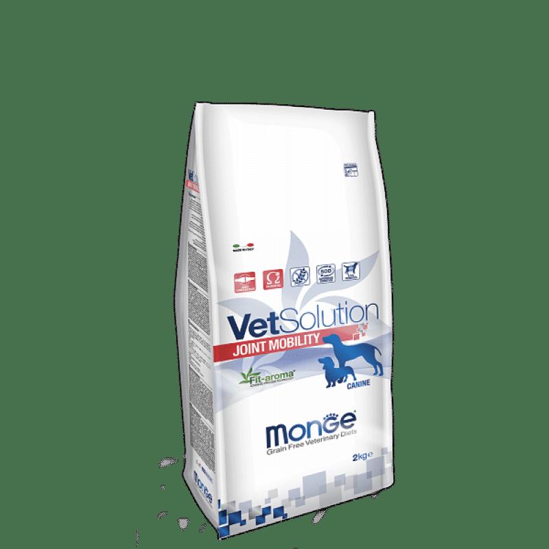 Monge VetSolution Dog диета Joint Mobility купить в дискаунтере товаров для животных Крокодильчик