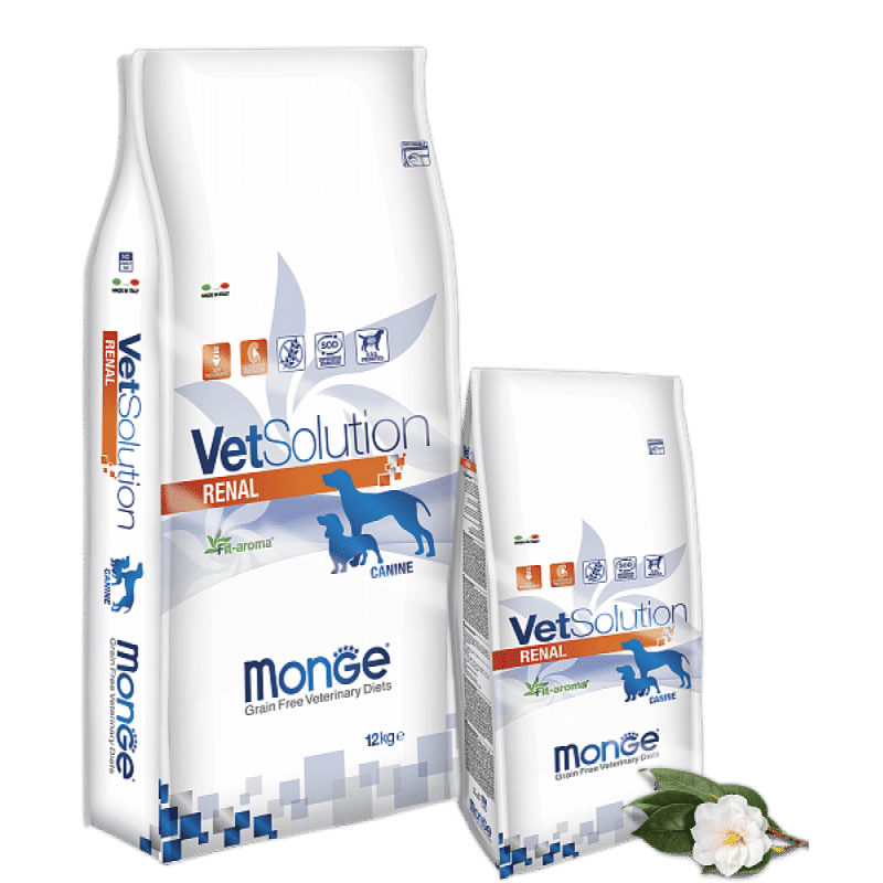 Monge VetSolution Dog диета Renal купить в дискаунтере товаров для животных Крокодильчик