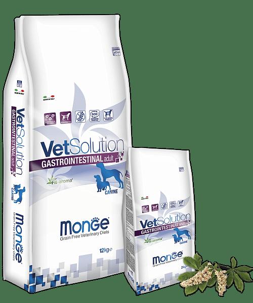Monge VetSolution Dog диета Gastrointestinal купить в дискаунтере товаров для животных Крокодильчик