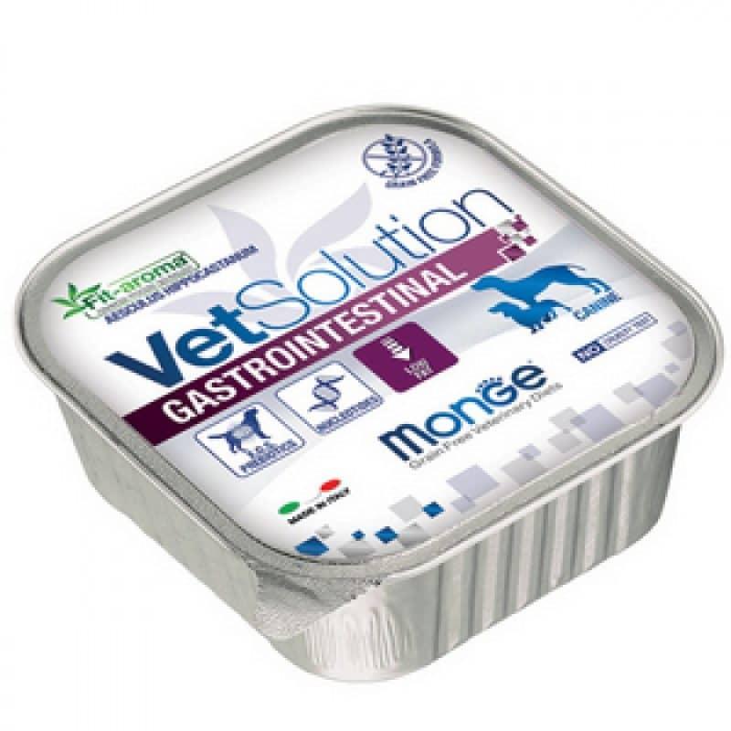 Monge VetSolution Dog диета Gastrointestinal консервы для собак, 150 г купить в дискаунтере товаров для животных Крокодильчик