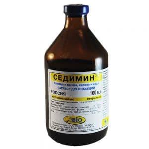 Седимин, 1 флакон, 100 мл. купить в дискаунтере товаров для животных Крокодильчик
