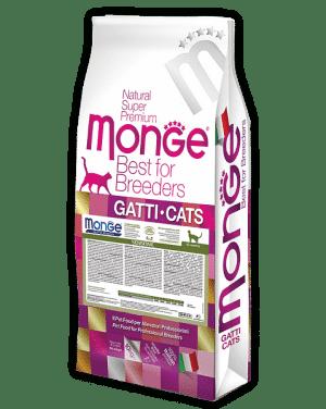 Monge Sensitive Cat сухой корм для кошек с чувствительным пищеварением купить в дискаунтере товаров для животных Крокодильчик