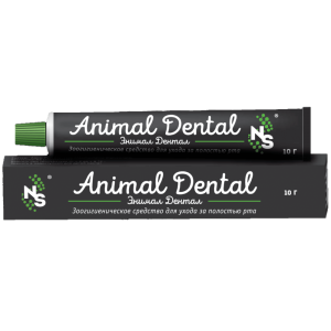 Animal Dental Энимал Дентал зоогигиенический гель купить в дискаунтере товаров для животных Крокодильчик