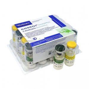 Virbac Каниген DHA2 PPi/L вакцина для собак купить в дискаунтере товаров для животных Крокодильчик