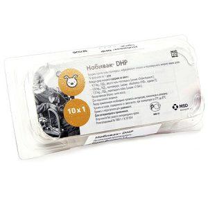 Intervet Нобивак DHP (Nobivac DHP), 1 мл. флакон (1 доза) купить в дискаунтере товаров для животных Крокодильчик