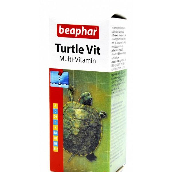 Turtle Vit для черепах и рыб, флак. 20 мл купить в дискаунтере товаров для животных Крокодильчик