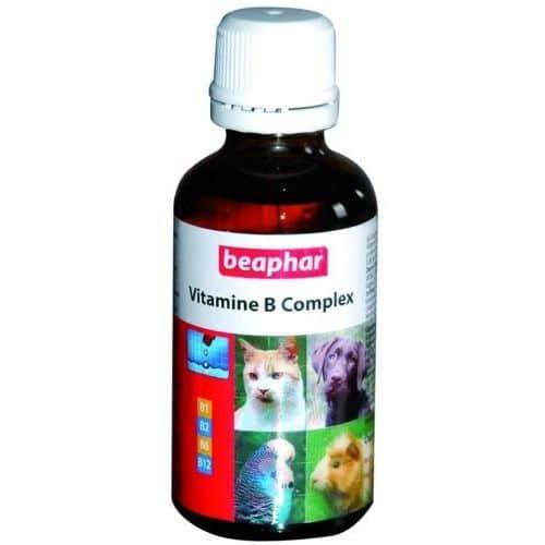 Vitamine B Complex для всех домашних животных, флак. 50 мл купить в дискаунтере товаров для животных Крокодильчик
