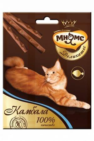 Мнямс Деликатес лакомые палочки для кошек с камбалой, 3 шт купить в дискаунтере товаров для животных Крокодильчик