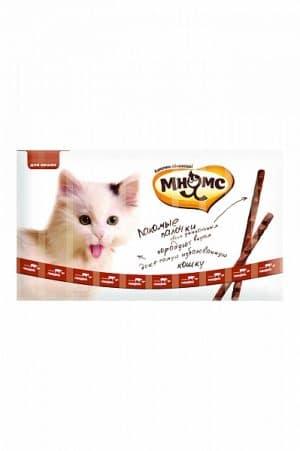 Мнямс лакомые палочки для кошек с говядиной и печенью, 10 шт. купить в дискаунтере товаров для животных Крокодильчик