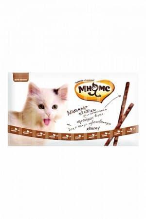 Мнямс лакомые палочки для кошек с индейкой и ягненком, 10 шт. купить в дискаунтере товаров для животных Крокодильчик