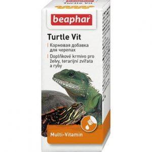 Beaphar Turtle Vit кормовая добавка для черепах и рыб купить в дискаунтере товаров для животных Крокодильчик