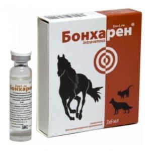 Бонхарен 6 мл. купить в дискаунтере товаров для животных Крокодильчик в Москве
