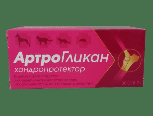 Артрогликан таблетки, 30 шт. купить в дискаунтере товаров для животных Крокодильчик